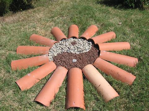 Au quotidien for Bordure terre cuite jardin